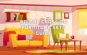 Animal Crossing New Horizons Furniture Sets