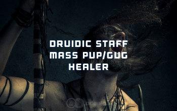 Druidic Staff mass PvP Healer Albion Online build