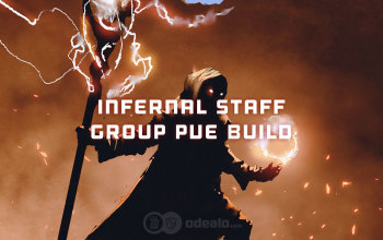 Infernal Staff Group PvE DPS Albion Online build