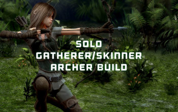 Skinning/Gathering Archer Bow build - Albion Online