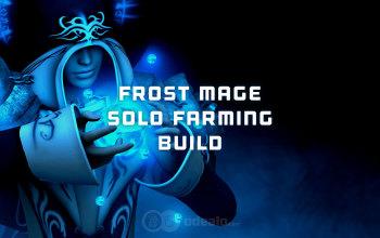 Frost Mage Solo PvE farming build - Albion Online