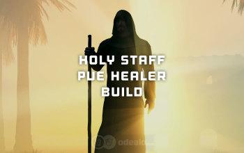 Holy Staff PvE Healer build for Albion Online