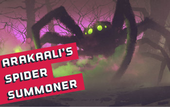 Arakaali's Fang Spider Summoner Guardian Build