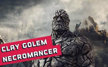 Clay Golem Necromancer Build for PD2