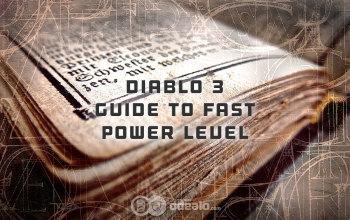 Diablo 3 Fast Power Level Guide