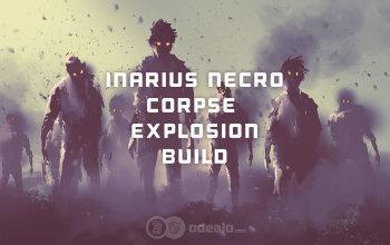 Inarius Corpse Explosion Necromancer Speedfarming build - Diablo 3 RoS