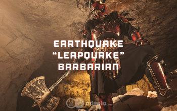 "Earthquake ""Leapquake"" Barbarian Season 13 Build - Diablo 3 RoS"