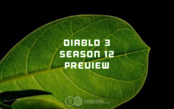 Diablo 3 Season 12 Preview - Patch 2.6.1