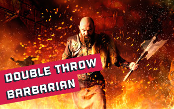 Double Throw Barbarian PD2 Build