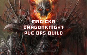 Magicka Dragonknight PvE DPS ESO build
