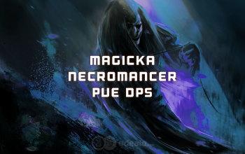 Magicka Necromancer PvE DPS ESO build