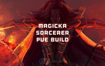 Magicka Sorcerer PvE DPS ESO build