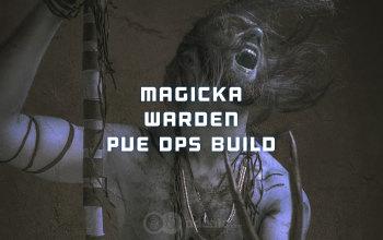 Magicka Warden PvE DPS ESO build