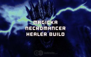 Magicka Necromancer Healer build for Elder Scrolls Online