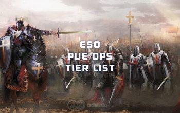 ESO DPS Tier list - the highest PvE DPS in Elder Scrolls Online