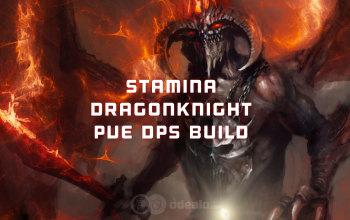 ESO Stamina Dragonknight PvE DPS Build
