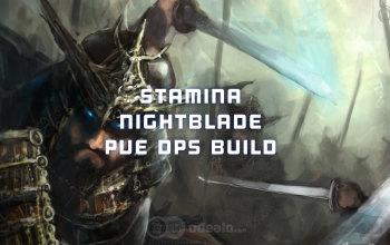 ESO Stamina Nightblade PvE DPS Build