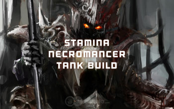 Stamina Necromancer the Undead Tank build for ESO