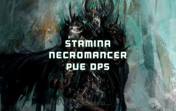 Stamina Necromancer PvE DPS ESO build