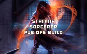 Stamina Sorcerer PvE DPS ESO build