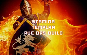 Stamina Templar PvE DPS ESO build
