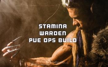 ESO Stamina Warden PvE DPS Build
