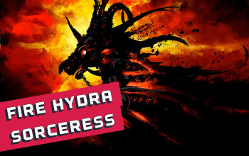 Fire Hydra Sorceress build for PD2