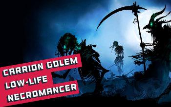 Low-Life Carrion Golem Auramancer/Necromancer