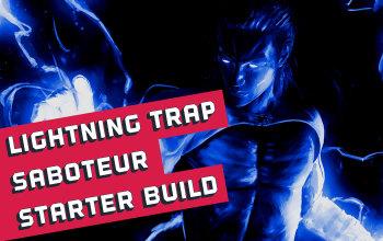 Lightning Trap Saboteur Starter Build