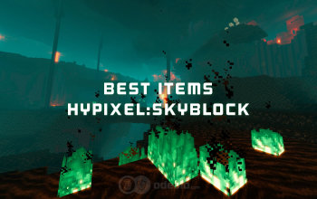 The best Items in Hypixel SkyBlock