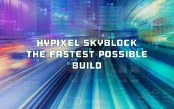 Hypixel SkyBlock Max Speed/Fastest Build