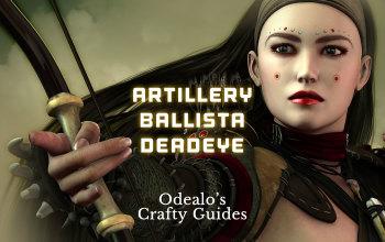 Artillery Ballista Deadeye Starter Build