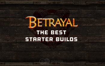 The Best 3.5 Starter builds for the Betrayal League