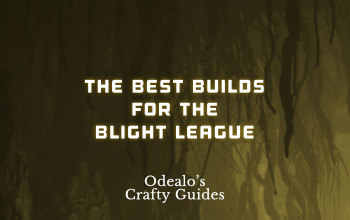 Best PoE builds for Blight League and Patch 3.8