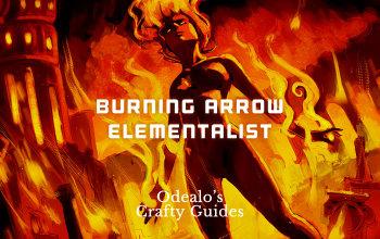Burning Arrow Elementalist Ignite Build