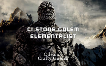 CI Stone Golem Summoner Elementalist Build