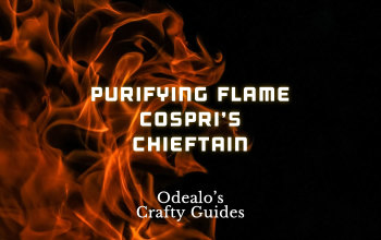 Purifying Flame Cospri's Chieftain build