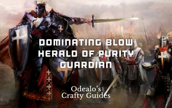 Domination Blow Herald of Purity Guardian build - Odealo's Crafty Guide