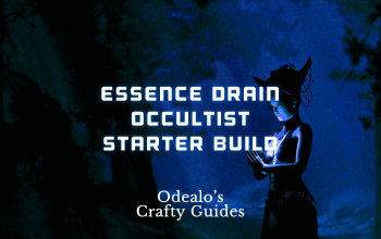 [3.1]Essence Drain Occultist Starter Build - Odealo's Crafty Guide