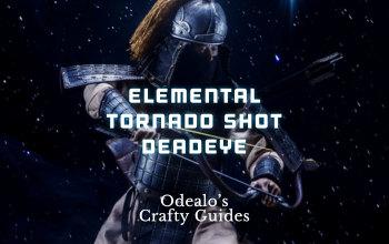Windripper Elemental Tornado Shot Deadeye build