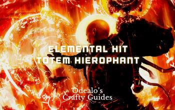 Elemental Hit Totem Hierophant Build