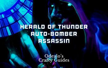 Herald of Thunder Auto-Bomber Assassin Build