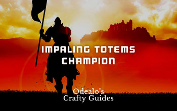 Shattering Steel Impaling Totems Champion build - Odealo's Crafty Guide