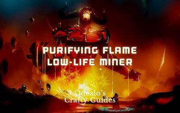 Purifying Flame Low-Life Saboteur Build