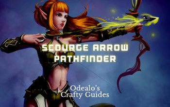 Scourge Arrow/Toxic Rain Pathfinder build - Odealo's Crafty Guide