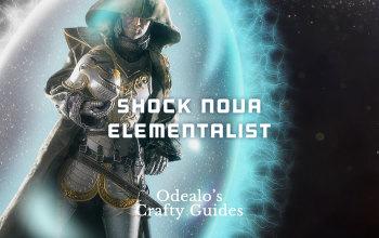 Shock Nova Witch Elementalist PoE build