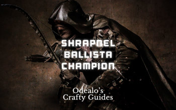 "Shrapnel Ballista ""Shotgun"" Champion Build"
