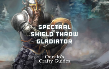 Spectral Shield Throw Pure Physical Gladiator - Odealo's Crafty Guide