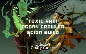 Toxic Rain Agony Crawler Scion Ascendant build - Odealo's Crafty Guide
