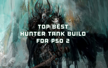 The best Hunter/Tank build for PSO2
